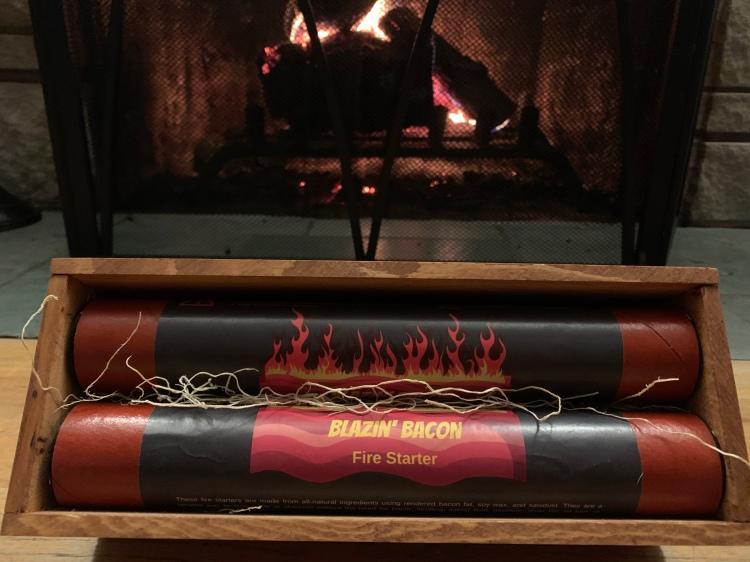 Blazin' Bacon Fire Starters